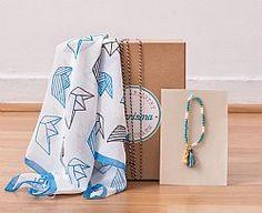 Something Greek Gift Box Greek Gifts, Organization, Blanket, Box, Birthday, Home Decor, Getting Organized, Organisation, Snare Drum