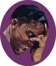 Travis Scott Digital Illustration