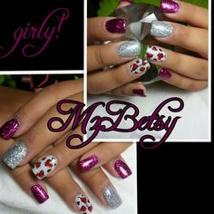 Gurly much!!!  Burgundy bling and cheetah hearts