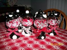 Candy Jar Pots