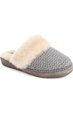 UGG® 'Aira' Knit Scuff Slipper (Women) available at #Nordstrom