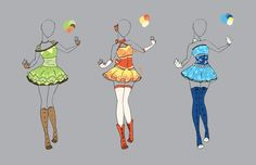 .::Outfit Adopt Set 4(CLOSED)::. by Scarlett-Knight on @DeviantArt