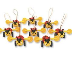 Add a bit of Kiwiana to your home.  Grab an eight-pack of Kiwiana wooden Buzzy Bee decorations for $12.50 from Not Socks Gifts Ltd.  Hang th...