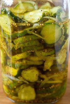 Authentic Amish Refrigerator Pickles