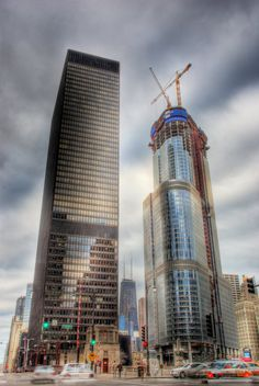 IBM Building and Trump Tower