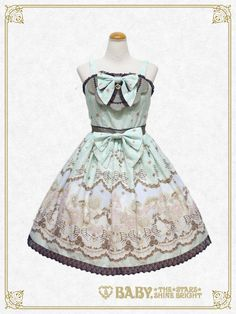 Little Royal Icing〜私の小さなプリンセス〜柄ジャンパースカートⅡ/Little Royal Icing〜My little princess〜jumper skirt Ⅱ | BABY,THE STARS SHINE BRIGHT