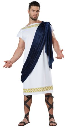 Chicago Costume - Grecian Adult Toga Costume $29.99 (//.  sc 1 st  Pinterest & Julius Caesar Adult Costume - Roman Costumes | Sam | Pinterest ...