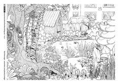 Natur - Garten Tiere Wimmelbild - Berninger