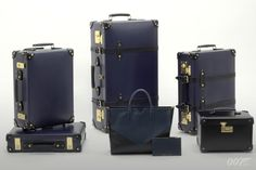 Globe-Trotter has announced the launch of two new product ranges to celebrate the release of SPECTRE. The first, named after the 24th Bond adventure, is made up of suitcases, including 16
