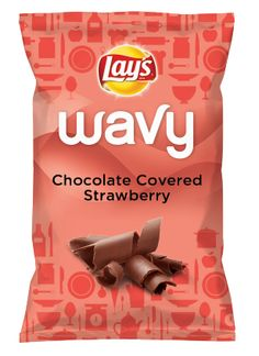 Wouldn't Chocolate Covered Strawberry be yummy as a chip? Lay's Do Us A Flavor is back, and the search is on for the yummiest chip idea. Create one using your favorite flavors from around the country and you could win $1 million! https://www.dousaflavor.com See Rules.