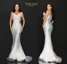 TERANI COUTURE 2011E2093 authentic dress. FREE FEDEX. BEST PRICE   eBay Terani Couture, Formal Dresses, Wedding, Free, Ebay, Fashion, Dresses For Formal, Valentines Day Weddings, Moda