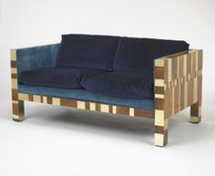 Paul Evans, Cityscape Settee for Directional, c1970.