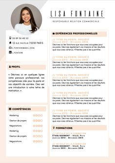 Cv Design Template Free, Creative Cv Template, Modern Cv Template, Cv Fashion Designer, Fashion Cv, Conception Cv, Beau Cv, Cv Models, Interior Design Cv