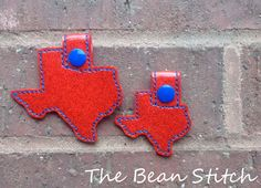 Embroidery Machine Download Design File  TEXAS by BeanStitch