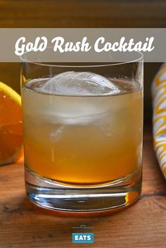 Honey and bourbon pair beautifully in this drink.