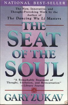 The Seat of the Soul by Gary Zukav - the best spirituality book I've ever read - and I'm one chapter in