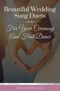 Looking for songs for your wedding day? These beautiful duets are perfect for your ceremony and first dance. Listen to the playlist and grab my free Wedding Song Checklist! Perfect Wedding Songs, Unique Wedding Songs, Popular Wedding Songs, Wedding Songs Reception, Country Wedding Songs, Free Wedding, Wedding Music, Country Weddings, Vintage Weddings