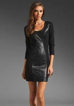 WISH Mania Leather Dress in Diesel at Revolve Clothing - Free Shipping!