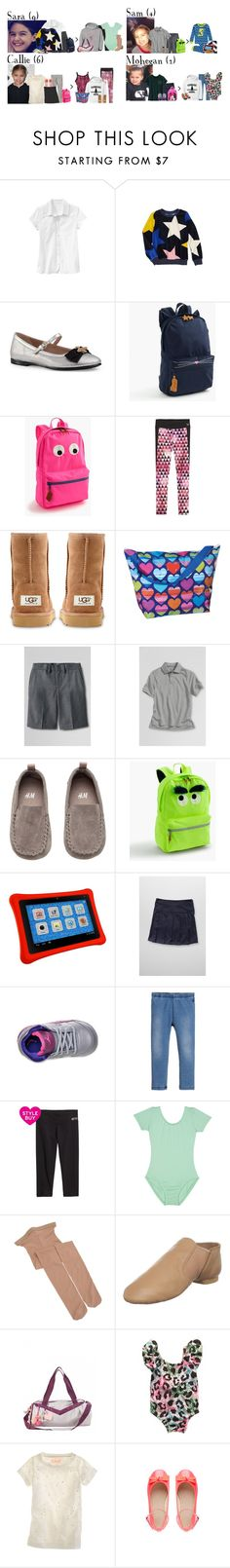 """""""Tuesday // School, Dog Park, Errands & Activities // 11/29/16"""" by graywolf145 ❤ liked on Polyvore featuring J.Crew, Gap, UGG Australia, Lands' End, Petit Lem, Retrò, Joules, Capezio and GrayWolfFamily"""