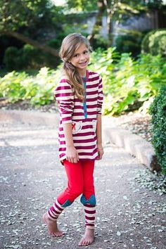 """STRIPED TOP AND PANTS """"BROOKLYN"""" OUTFIT"""