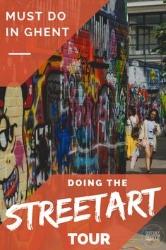 Wondering what to do when visiting Ghent? How about this cool streetart tour? https://www.dutchies-abroad.com/streetart-route-in-gent/