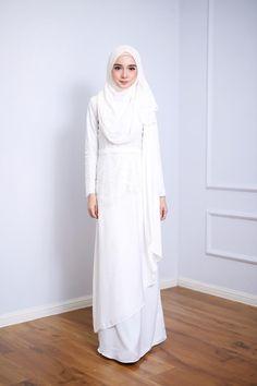 Fiona Dress Off White