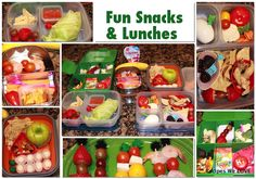 Tips to help pack Healthy Kids Lunches and Snacks