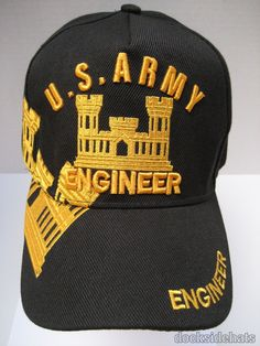 8a173091ae9 US ARMY ENGINEER Embroidered Hat Embroidered Hats