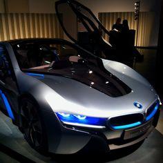 ♂ BMW i8 concept car @Lauren Davison Davison Divine Luxury Exhibition