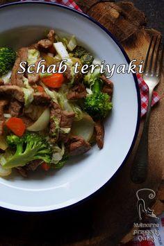 Kulinarne przygody Gatity: Smażony schab teriyaki z warzywami