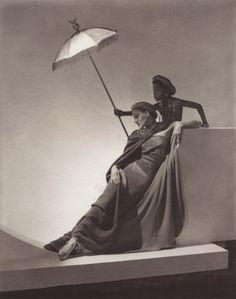 Horst P. Horst. Ad for Bergdorf Goodman. New York, 1935.