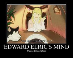 Ed's mind
