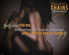 NEW RELEASE – EXCERPT, REVIEW & GIVEAWAY: Beneath These Chains by Meghan March