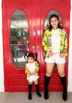 Mother and daughter matching outfits, mommy and me style, mom and daughter matching outfits Mom And Daughter Matching, Mini Me, Matching Outfits, Mommy And Me, Dressing, My Style, Fashion, Moda, Fashion Styles