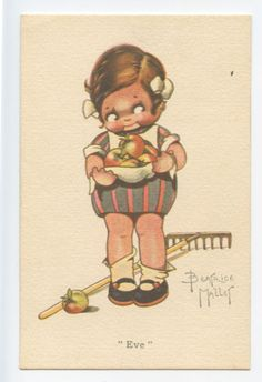''EVE'' ~ Beatrice Mallet card | eBay