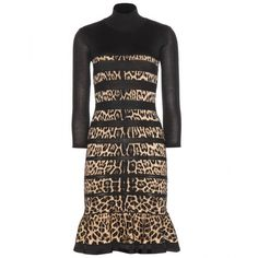 Roberto Cavalli Wool-Blend Dress
