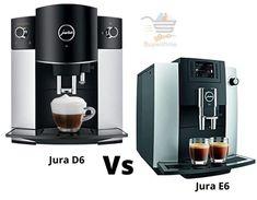 Jura D6 vs E6 - How Jura E6 Worth Your Investment? Jura Coffee Machine, Espresso Machine, Maker Labs, Automatic Coffee Machine, Cooking Appliances, Wood Cutting, Best Coffee, Drip Coffee Maker, Popcorn Maker