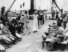 fashion show 1932