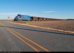 RailPictures.Net Photo: CA 2190 Chesapeake & Albemarle Railroad EMD GP7u at Gregory, North Carolina by Nick McLean