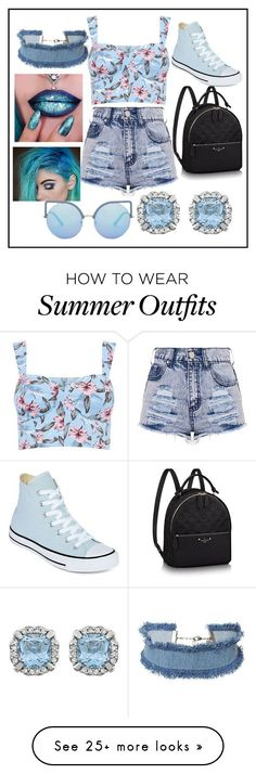 "Collection Of Summer Styles ""summer outfit"" by fashionqueen886 on Polyvore featuring Converse, DANNIJO and Matthew Williamson - #Outfits"