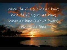 Da Kine- Darrell Labrado w/ lyrics....da kine in Hawaii...