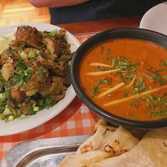Dishoom restaurant review London City Guide, Dishoom, London Restaurants, Curry, Plates, Ethnic Recipes, Food, Style, Licence Plates
