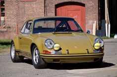 """Last September I flew to Connecticut and spent a full day photographing and driving the """"Olive Tart"""", a '71 911S rebuilt into a staggeringly..."""