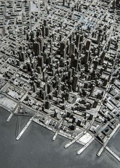 A Topographic Type Town