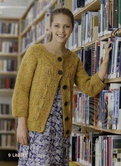 - Icelandic Laufey Women Wool Cardigan Orange - Tailor Made - Nordic Store Icelandic Wool Sweaters - 1