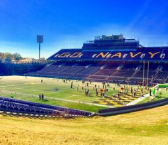 Navy-Marine Corps Stadium  Annapolis MD by KennedyPhotographyCo