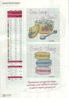 Sugar For My Honey From Cross Stitcher N°266 June 2013 6 of 7