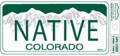 Proud to be a Colorado Native