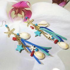 Κοχύλια Charmed, Bracelets, Earrings, Jewelry, Fashion, Ear Rings, Moda, Stud Earrings, Jewlery