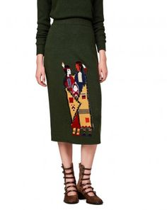 #Benetton #StellaJeanForBenetton #FW16 #collection #trend #fashion #woman #knitwear #color #skirt
